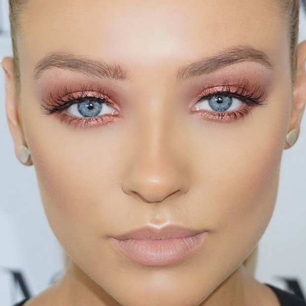 Makeup Tutorial Natural Look For Blue Eyes Makeup Looks Ideas