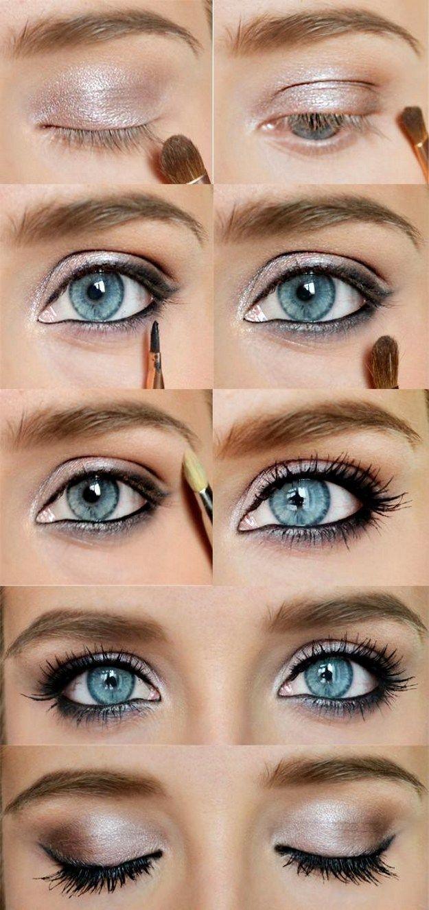 Best ideas for makeup tutorials how to do sexy blue eyes makeup description baditri Choice Image