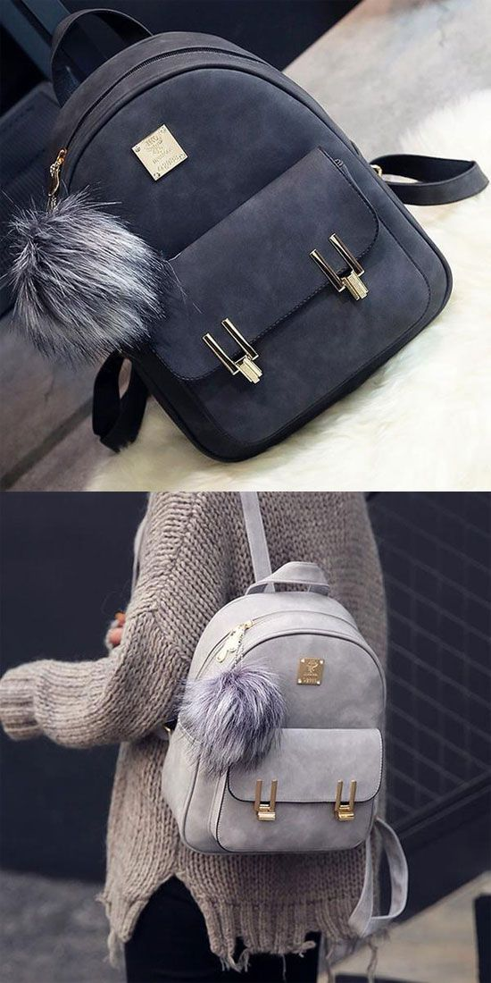 fb0786380e5e Bags   Handbag Trends   How nice backpack ! Fashion Frosted PU ...