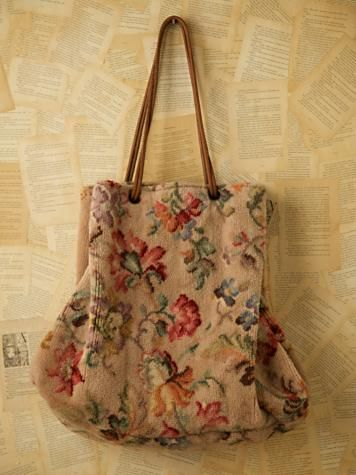 Bags Handbag Trends Vintage Carpet Bag Purse I Love
