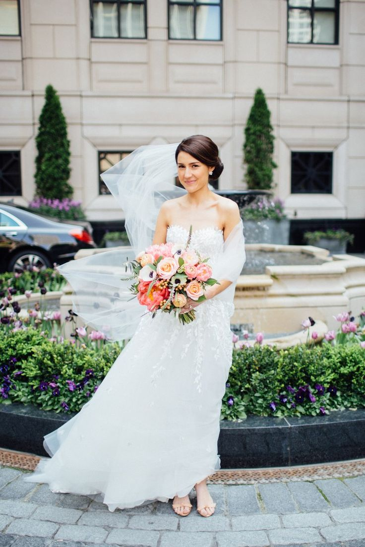Beautiful wedding dresses inspiration 2017 2018 bright for Bright colored wedding dresses