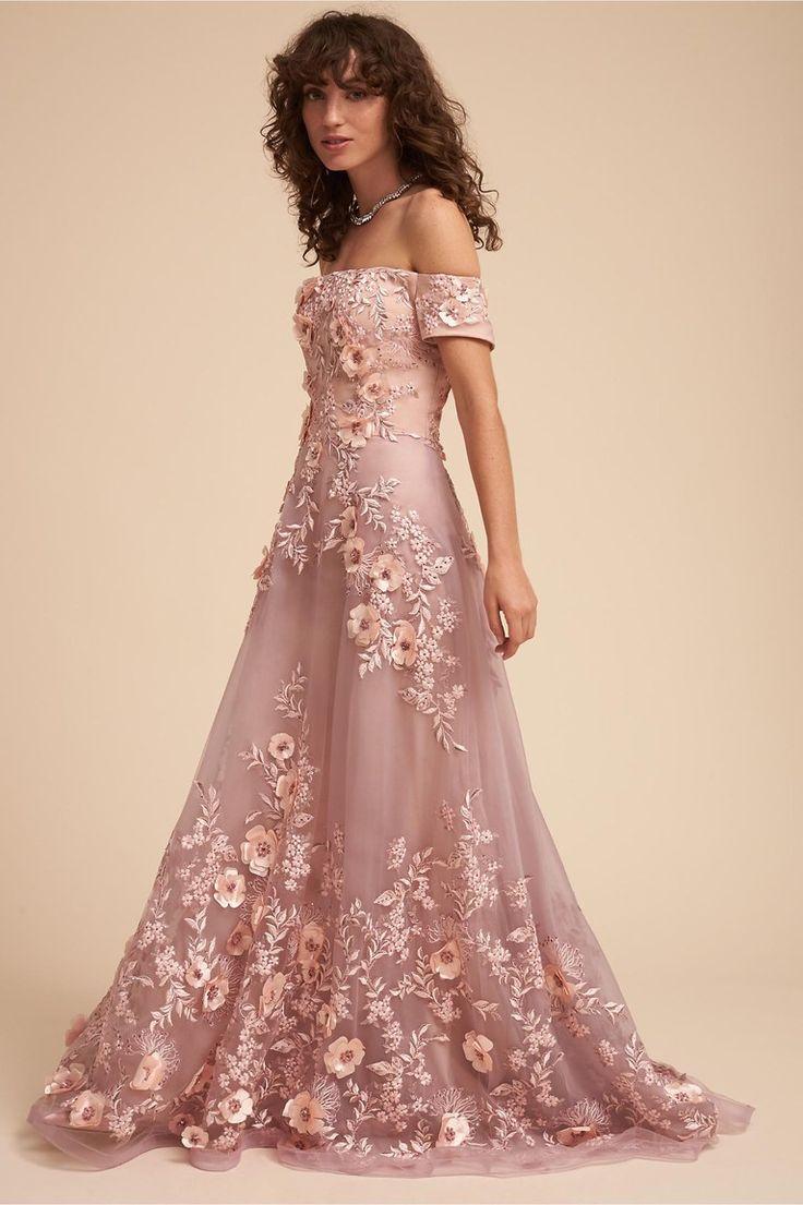 Beautiful Wedding Dresses Inspiration 2017/2018 : Dusty Rose Wedding ...