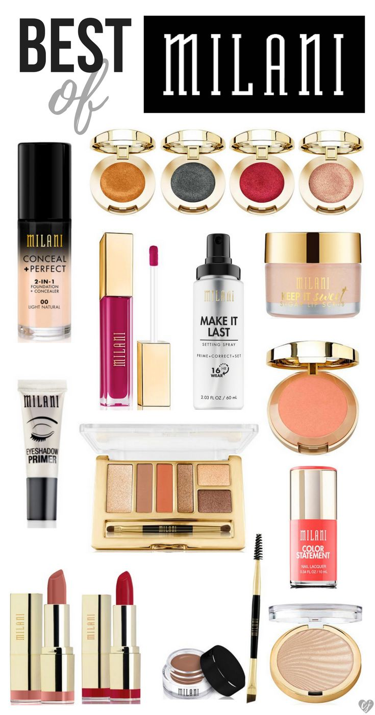 Makeup Products: Best Ideas For Makeup Tutorials : Best Of Milani Makeup