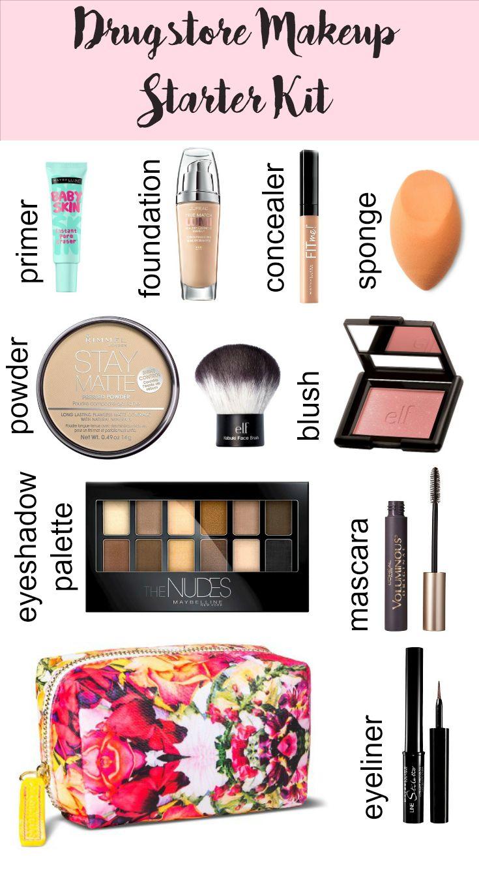Best Ideas For Makeup Tutorials : Drugstore Makeup Starter