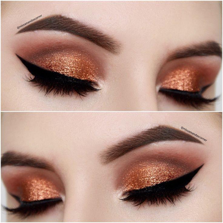 Best Ideas For Makeup Tutorials Easy Copper Smokey Eye Makeup