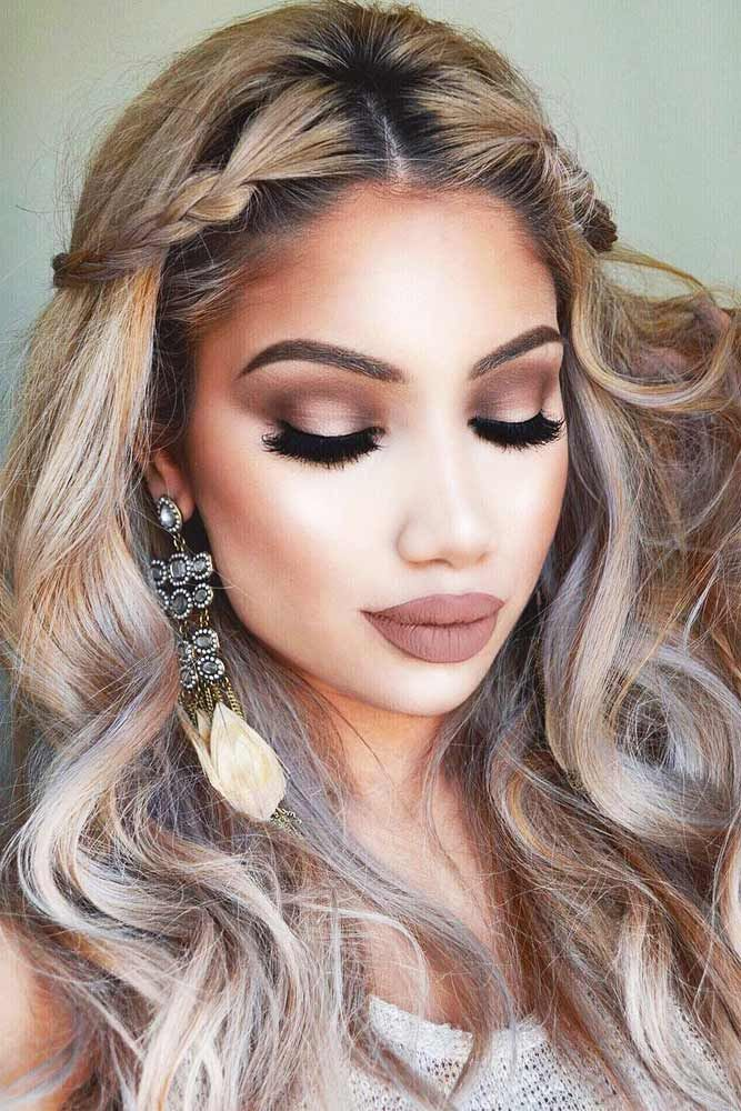 Makeup Ideas hair and makeup photographs : Beautiful Hairstyles And Makeup Pictures - Styles & Ideas 2018 ...