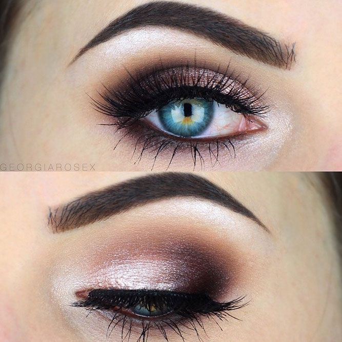 Best Ideas For Makeup Tutorials The Ideal Makeup For Blue Eyes Is