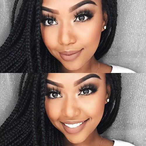 Makeup for dark skin: best tutorial for black skin | ladylife.
