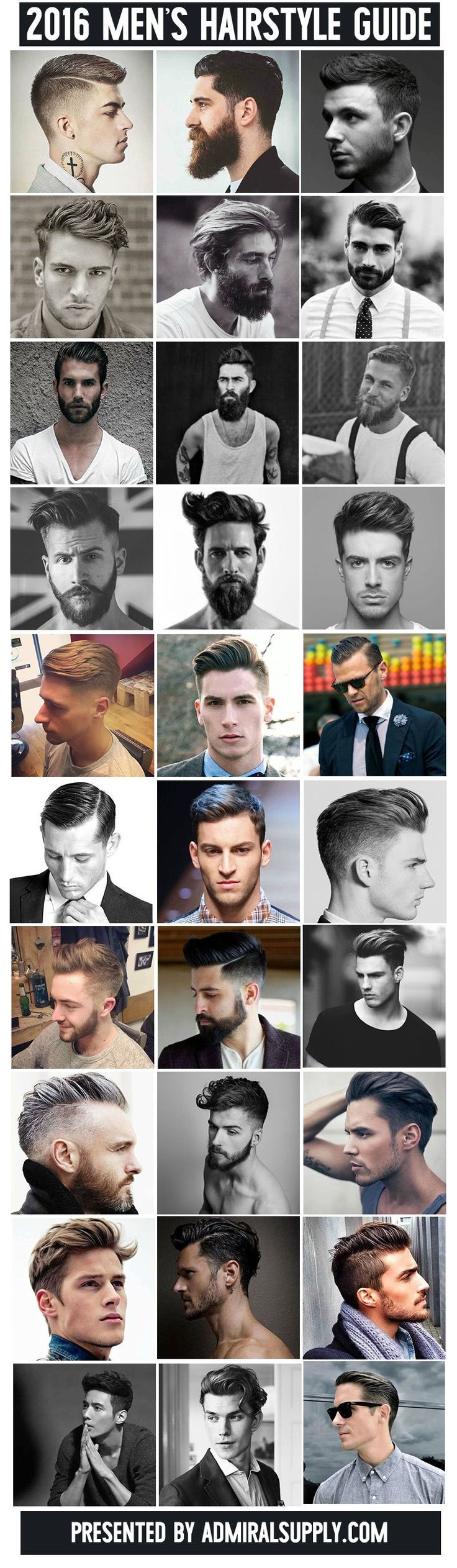 Guide to mens haircuts | beautiful people.