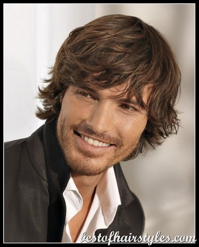 Mens Haircuts Hairstyles Male Celebrity Hairstyles For Medium Long