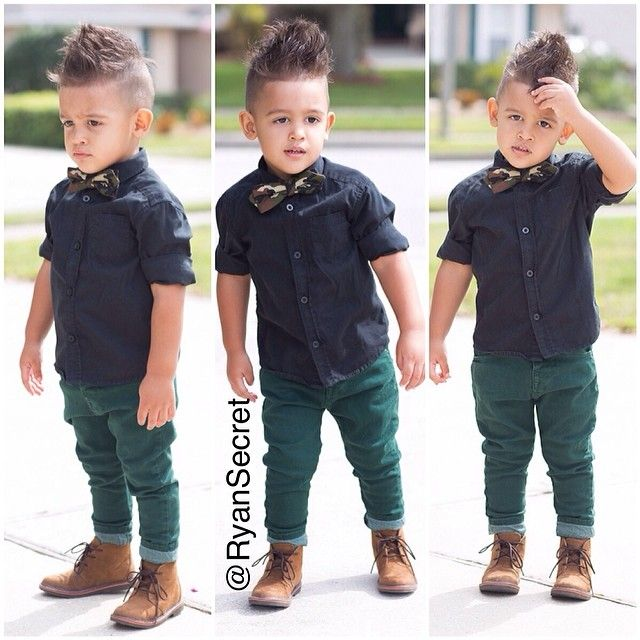 Kid Haircuts With Outfit: Men's Haircuts : Kids Fashion #boy #outfit...