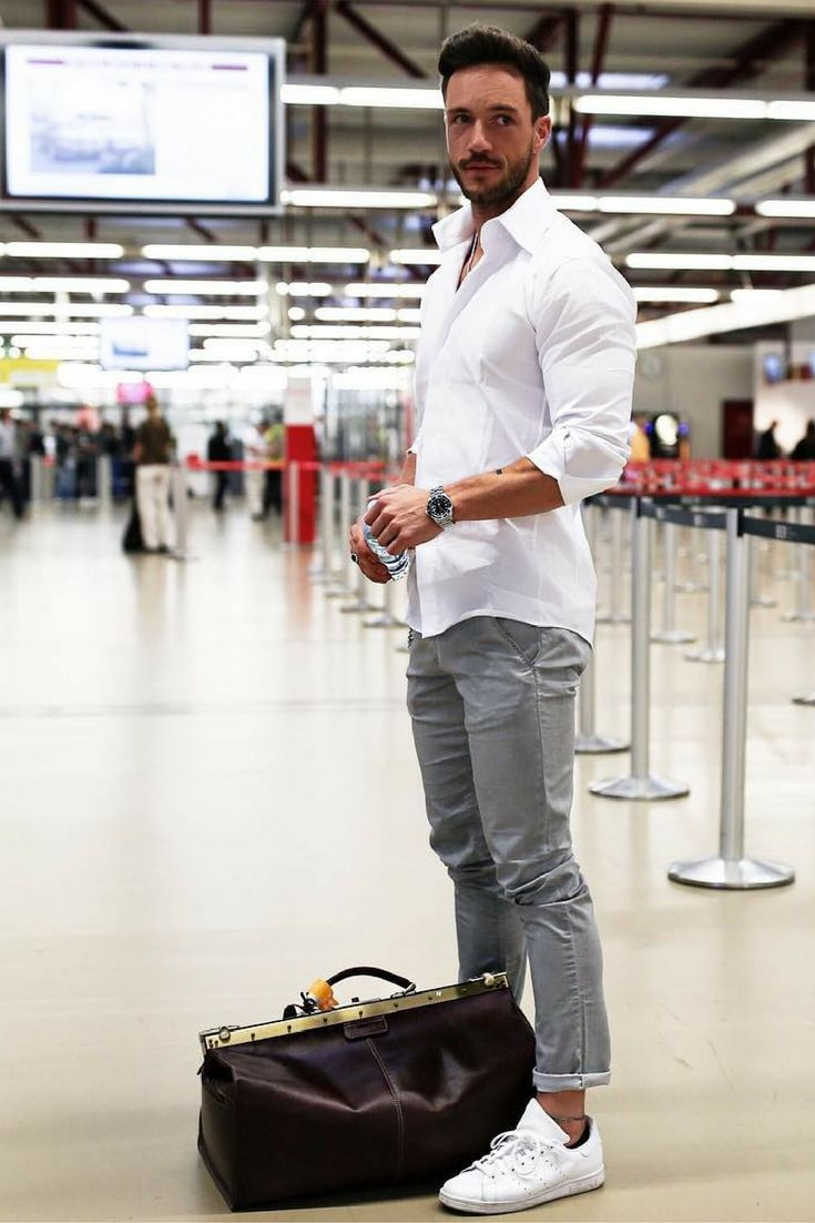 Men 39 S Style Look 2017 2018 Airport Outfit Style For Men Mens Fashion Style