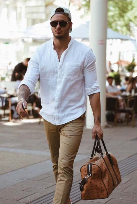 Men S Style Look 2017 2018 Glance Out Your Day With A Gym Bag