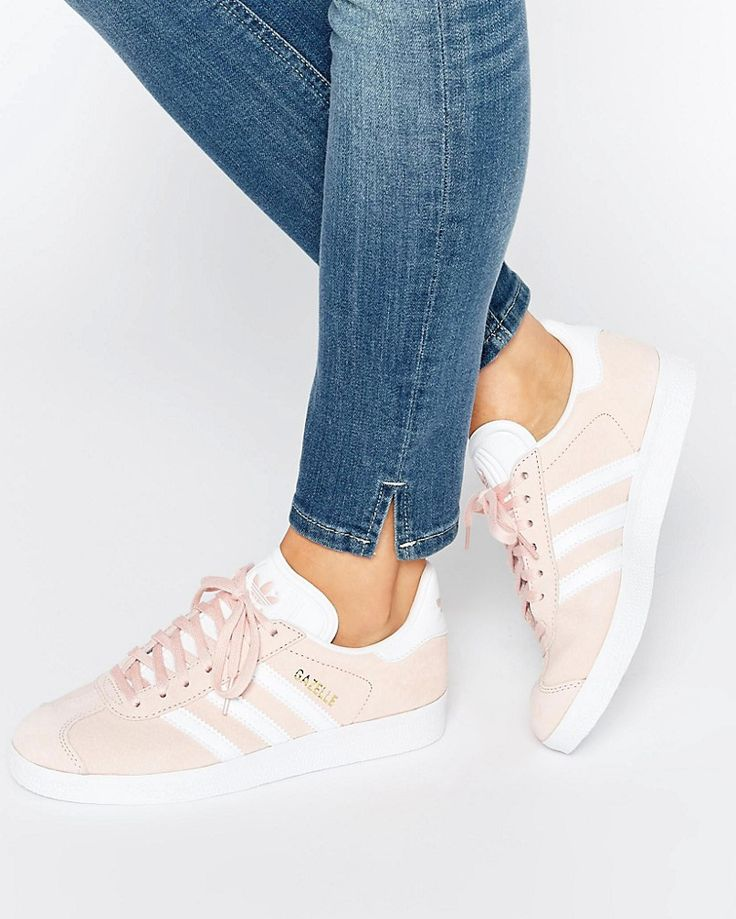 48fa2d8be17a Trendy Ideas For Women s Sneakers   adidas pink suede gazelle ...