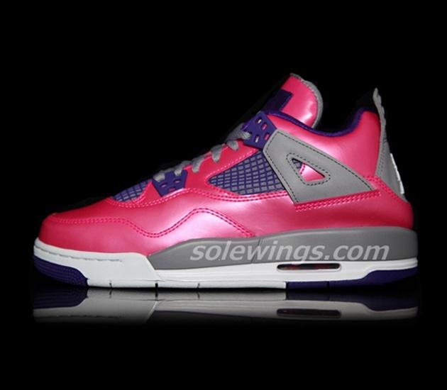 73596e982680 2013 pink nike hyperdunks  trendy-ideas-for-womens-sneakers-air-jordan-iv-  ...
