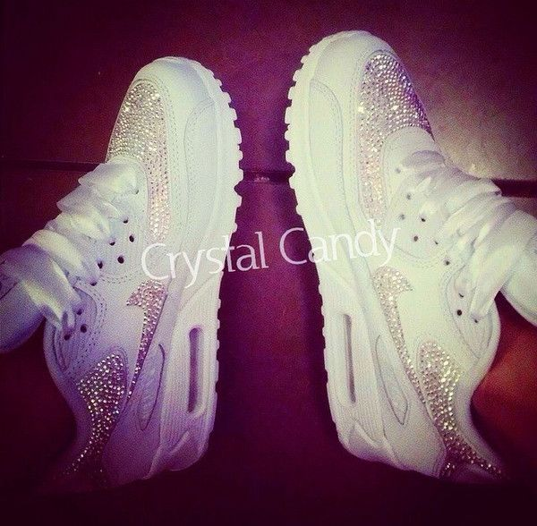 Trendy Ideas For Women s Sneakers   Crystal Nike Air Max 90 39 s in ... 857460a014