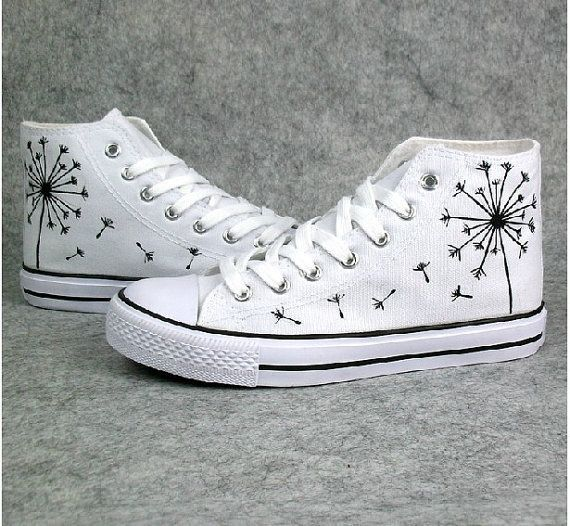 Trendy Ideas For Women's Sneakers : customised white ...
