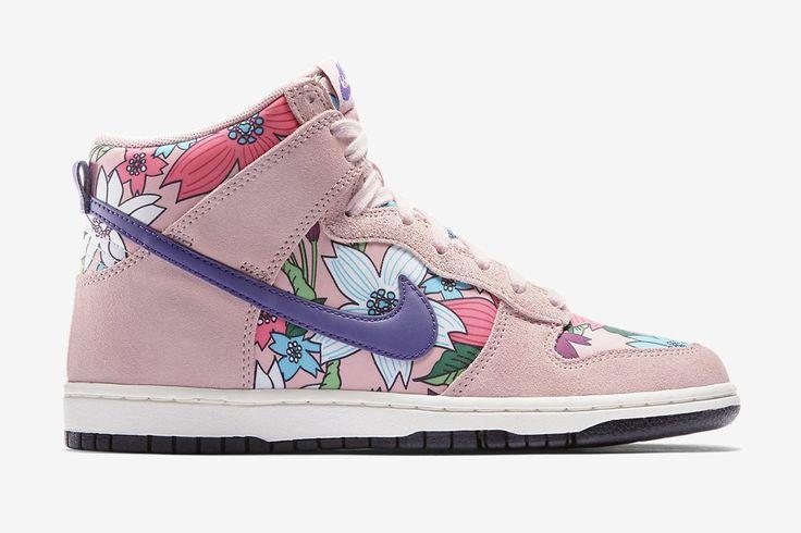 Trendy Ideas For Women s Sneakers   Nike WMNS Dunk Hi Skinny Print ... fe62ea8e6