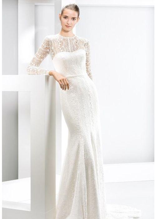 Beautiful Wedding Dresses Inspiration 2017/2018 : 15 Modest Wedding ...