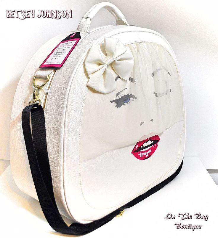 Cheap Body Shop >> Bags & Handbag Trends : Betsey Johnson Marilyn Monroe Bride Weekender Travel Crossbody Train ...