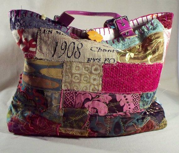 Bags & Handbag Trends : Boho Chic, un tissu genre, Fiona Collage ...
