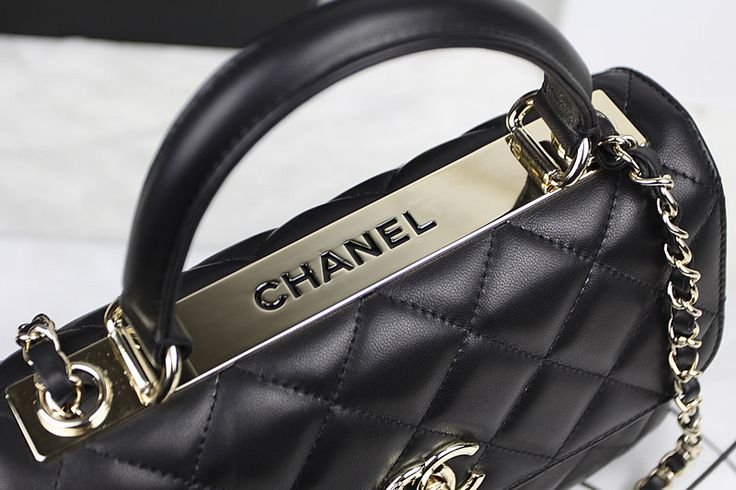 Bags   Handbag Trends   Chanel reintroduced the Trendy CC Tote for ... 09063219b3