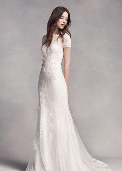 c1623ec595 Beautiful Wedding Dresses Inspiration 2017 2018   15 Modest Wedding ...