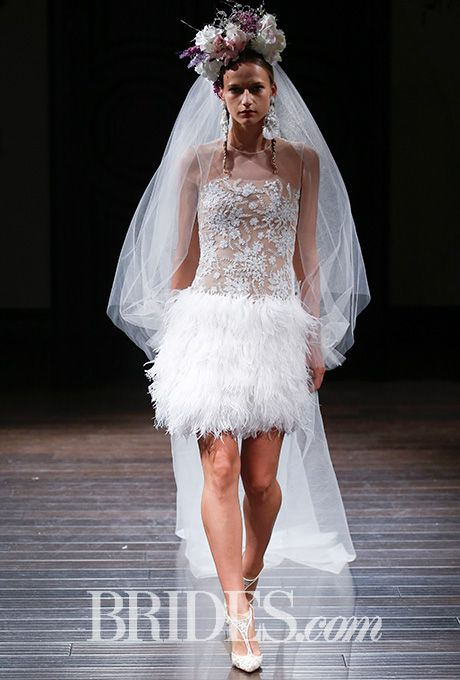 Beautiful Wedding Dresses Inspiration 20172018 Naeem Khan Cali