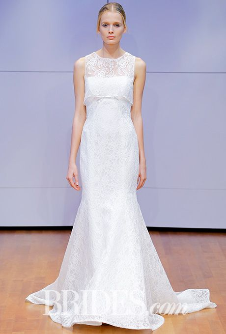 Beautiful Wedding Dresses Inspiration 2017/2018 : Strapless lace ...