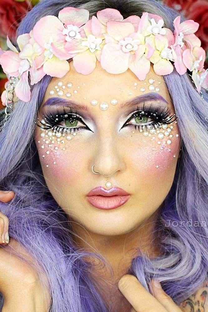 Pretty Halloween Face Makeup Ideas