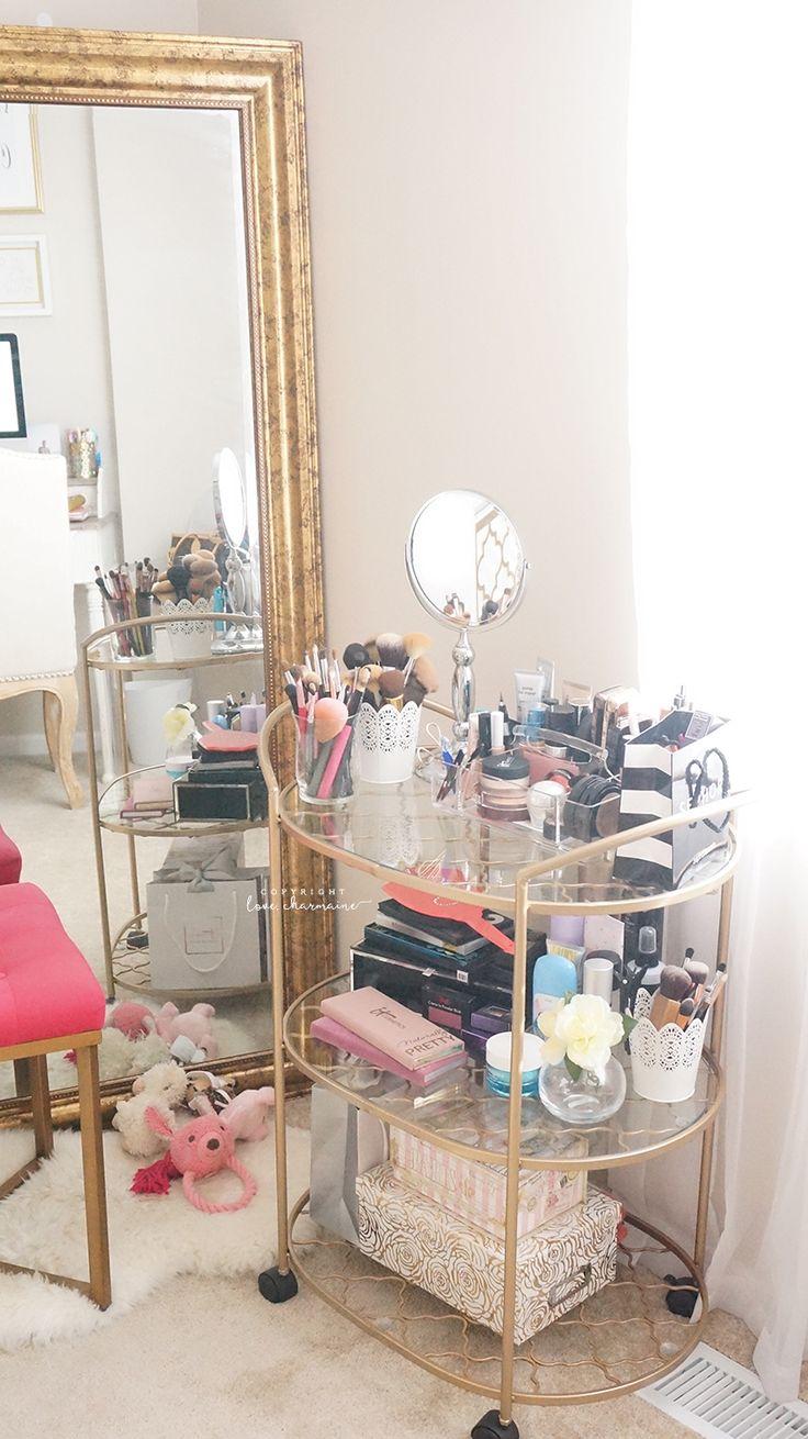 Best Ideas For Makeup Tutorials Lovee Using The Bar Cart