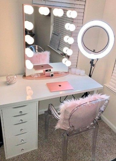 Best ideas for makeup tutorials makeup vanity flashmode description makeup vanity mozeypictures Choice Image
