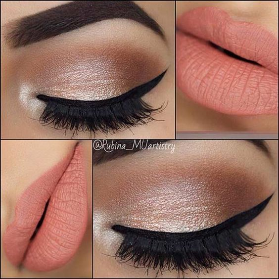 Best Ideas For Makeup Tutorials Neutral Eyes And Peach Lips Makeup