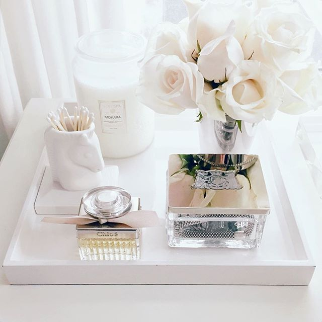 Best Ideas For Makeup Tutorials White Roses Dressing Table