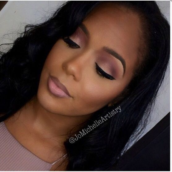 Nude makeup for black women join. agree