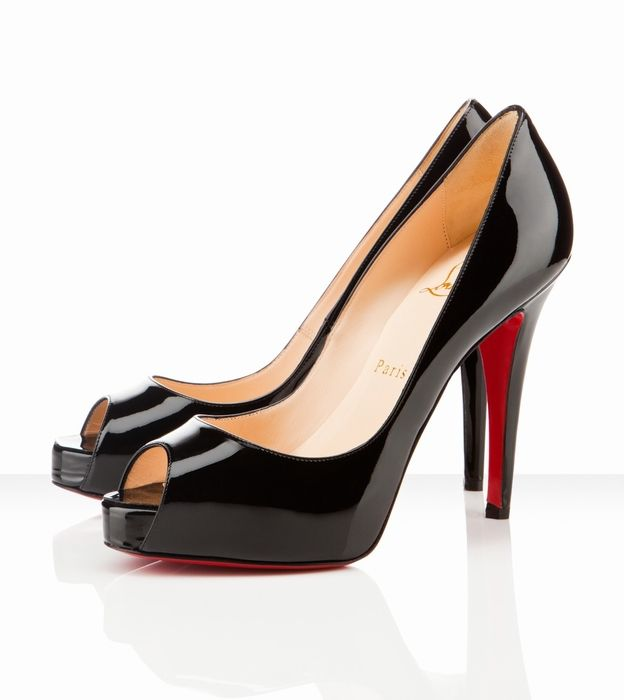 c2f8de60d71 High Heels   Christian Louboutin Very Prive 120mm Black Patent ...