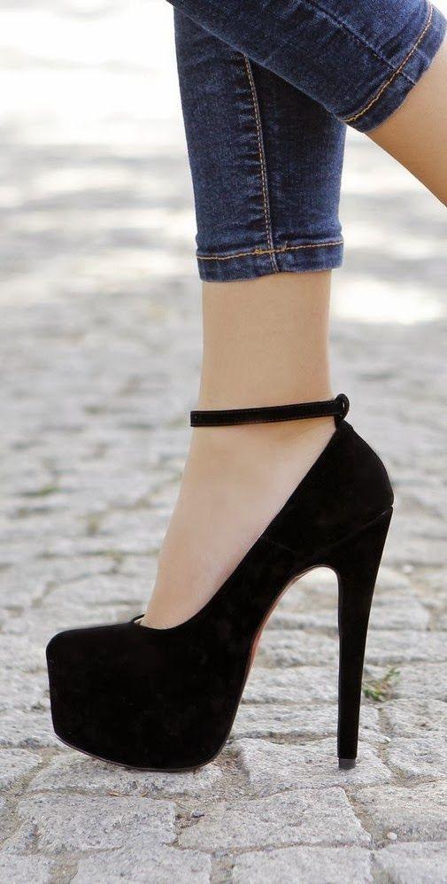 High Heels Gorgeous Black High Heel Shoes Fashion Jpg Flashmode