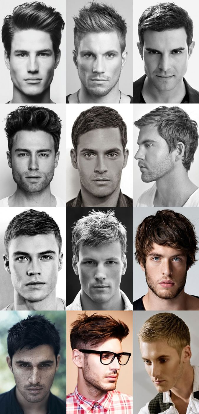 Men\'s Haircuts : 12 short and semi-short hairstyles for men. Here ...