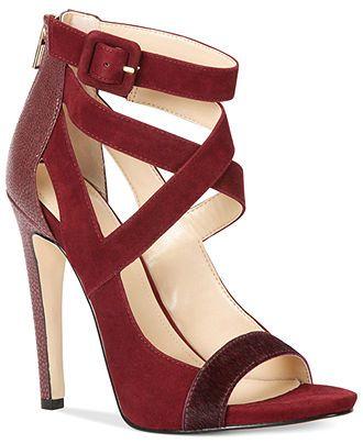 d104097e7e70 Trendy High Heels   Calvin Klein Women s Saren Sandals - Shoes ...