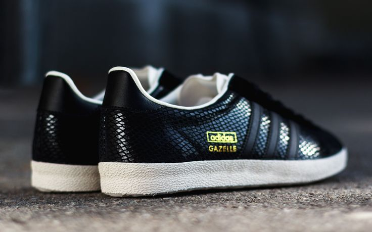 adidas gazelle og black womens