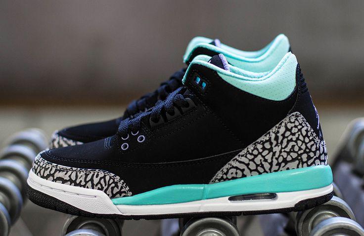 "55e1ee1dfe3 Trendy Ideas For Women s Sneakers   Air Jordan 3 Retro GS ""Bleached ..."