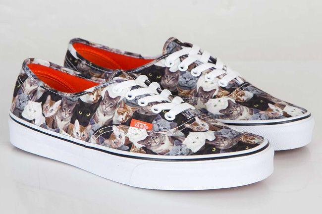 f1555b80e6 Trendy Ideas For Women s Sneakers   ASPCA x Vans Authentic Cats ...