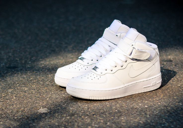 603c8606bb04 Trendy Ideas For Women s Sneakers   Nike Air Force 1 Mid GS  White ...