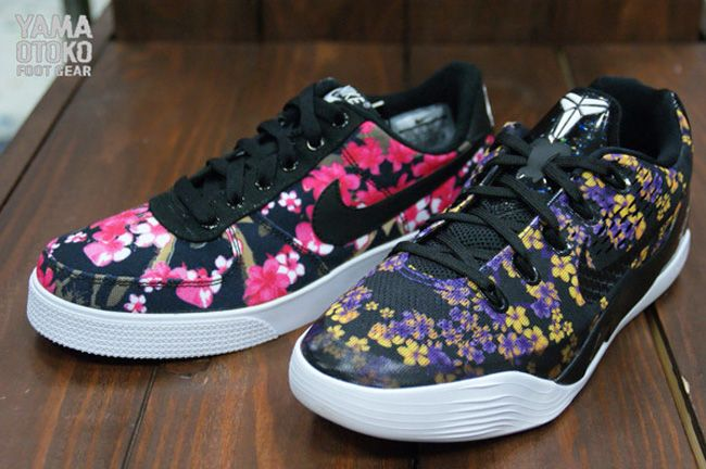 454634a57d1a Trendy Ideas For Women s Sneakers   Nike Girls Floral Pack  Kobe 9 ...