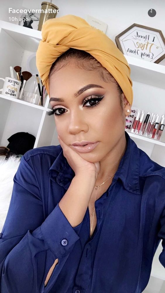 Something Nude makeup for black women question interesting