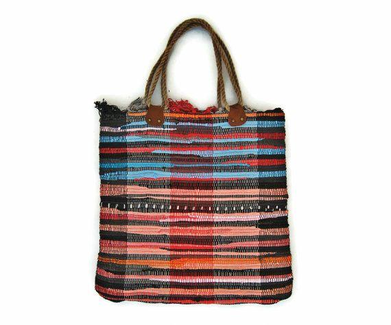 Bags & Handbag Trends : At the Sea Fabric Kilim Tote Bag ...