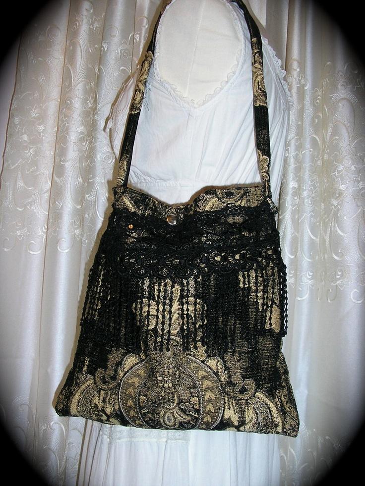 Bags Amp Handbag Trends Tapestry Gypsy Bag Black Bohemian