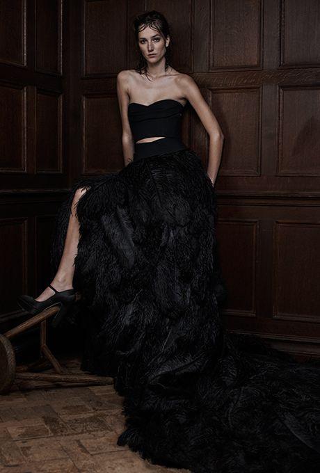 Black Bridesmaid Dresses Vera Wang 2018