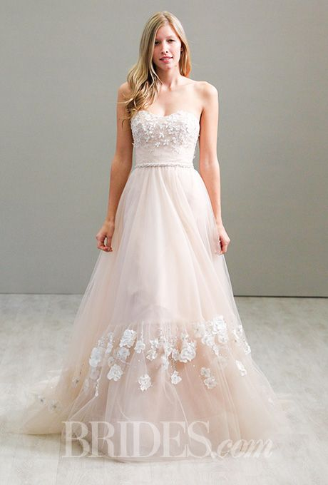 Beautiful Wedding Dresses Inspiration 2017/2018 : A blush pink ...