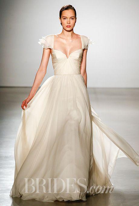 Beautiful Wedding Dresses Inspiration 2017/2018 : A floaty champagne ...
